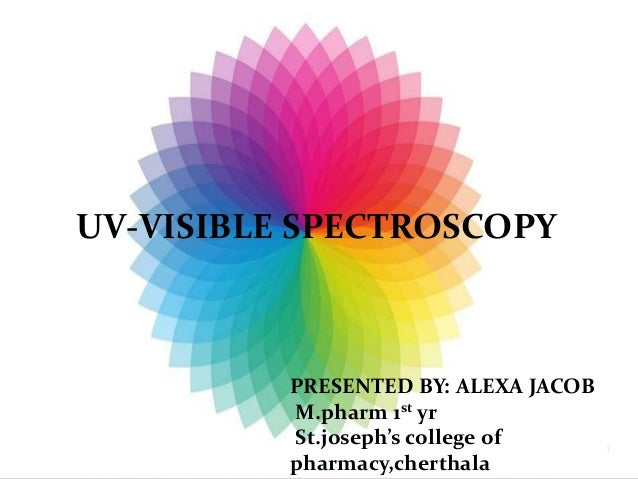 what is uv spectroscopy applications