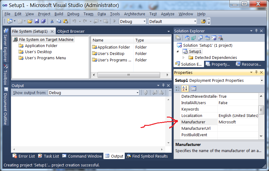 visual studio ssis the application is not installed