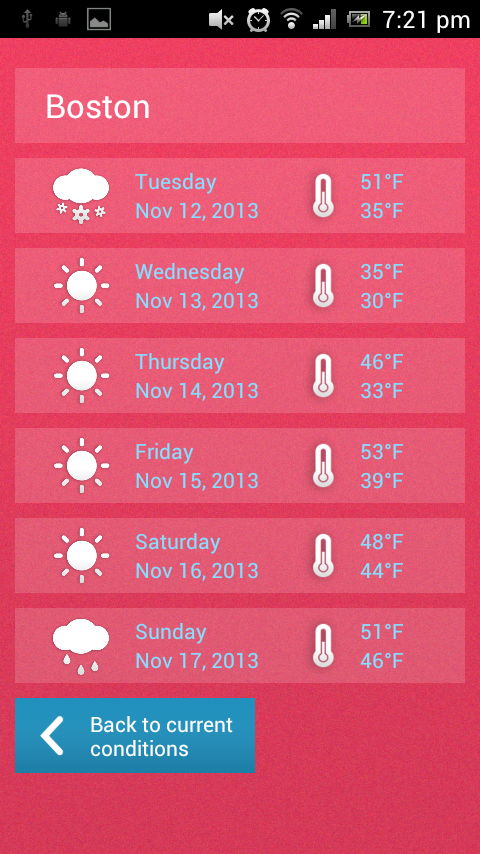 what is the most accurate weather application for android