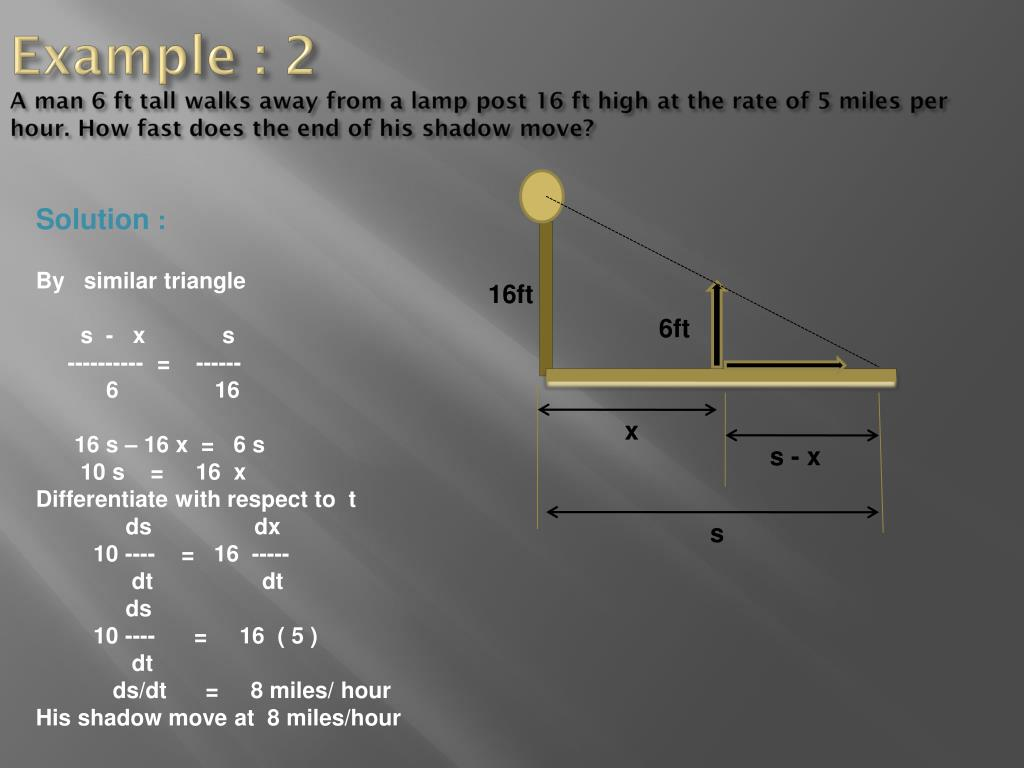 application of differential calculus in engineering ppt