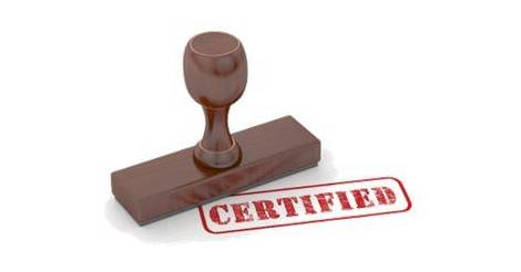 check status of inspection or certified coipes application 2017
