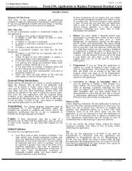 us permanent resident card application form