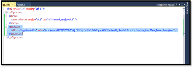 how to use log4net in c console application