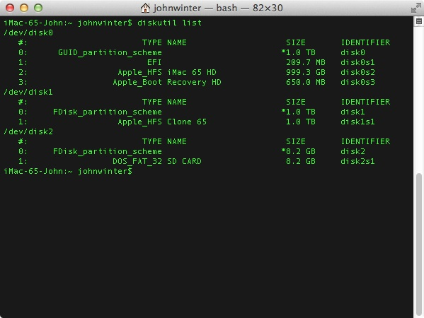 different terminal applications on rapsberry pi