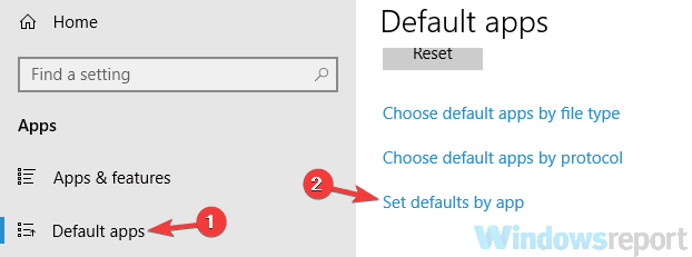 how to change default application for file type windows 7