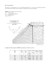 fluid mechanics and applications assignment 8 with solutions